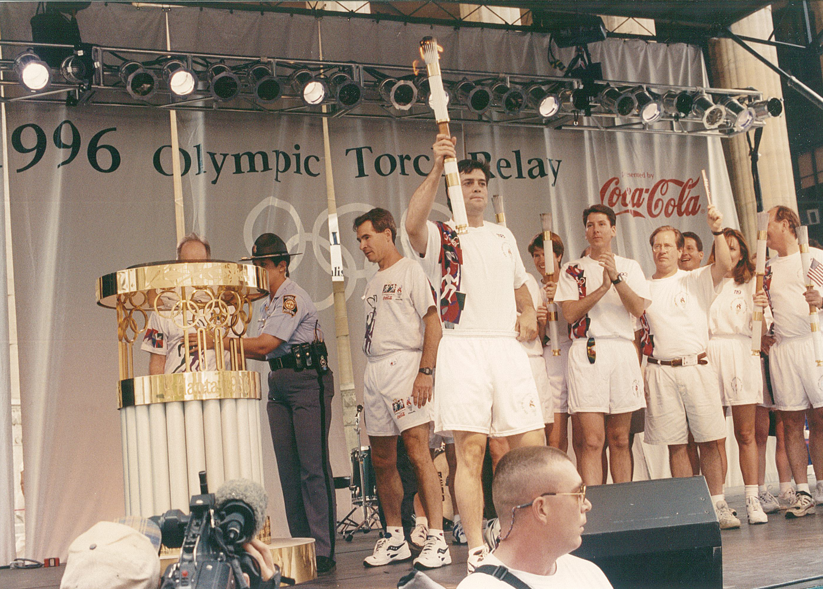 Memory Lane: The 1996 Olympic Torch Run Image