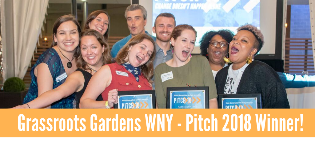 Pitch 10 Helps Grassroots Gardens WNY Prepare for Winter Image