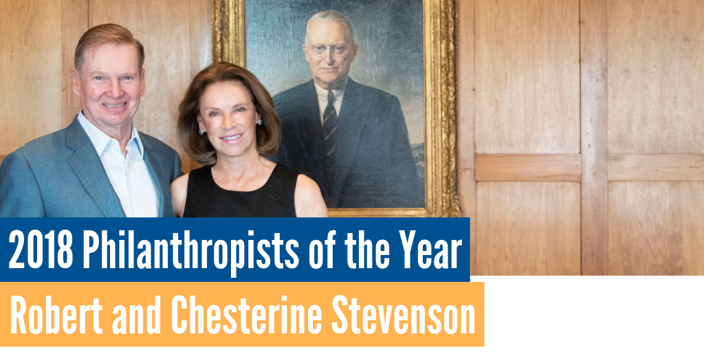 2018 Philanthropists of the Year: Robert and Chesterine Stevenson Image