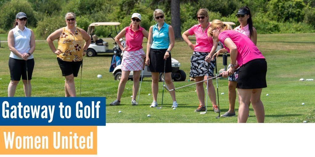 Women United Celebrates Success of Inaugural Gateway to Golf Event Image